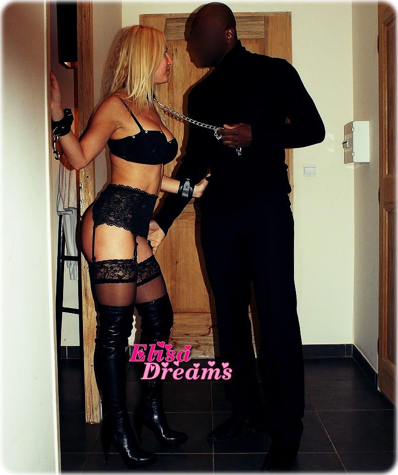 Ma femme soumise à un amant Black